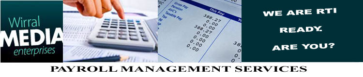 Wirral Media Enterprises Payroll Management Services banner logo